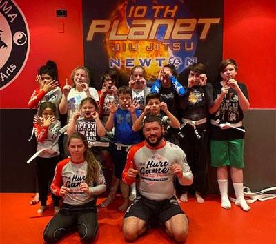 Kids Jiu-Jitsu and Kickboxing